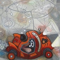 ' Abstract Car '