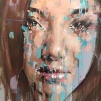 JIMMY LAW  150 x 125 cm Acrylic on canvas