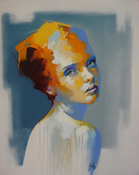 Watercolor Art Face Painting